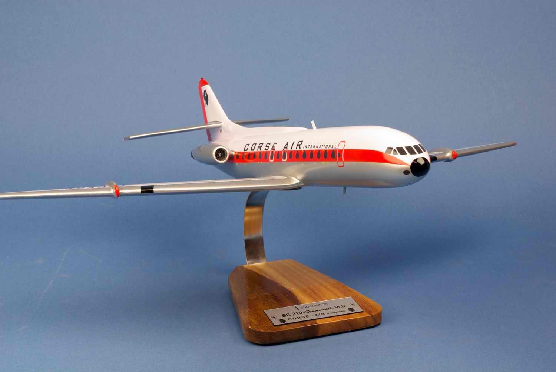 Maquette Avion Caravelle SE-210-VI Corse Air International 1/72