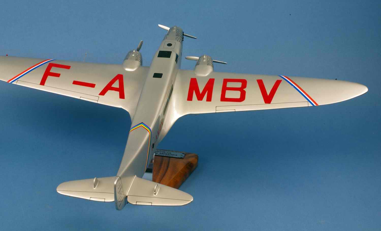 Maquette avion Couzinet 70 ARC en ciel Jean Mermoz