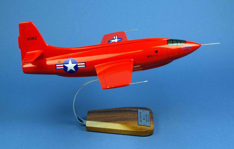 maquette avion Bell X1 USAF Glamorous Glennis 1/24