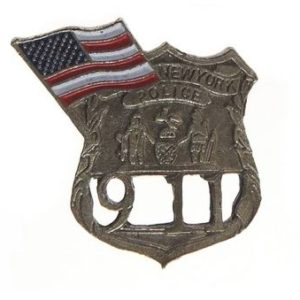badge New York Police