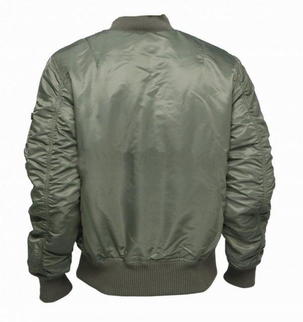 ma 1 flight jacket kaki back
