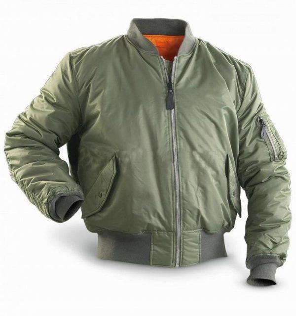 ma 1 flight jacket kaki main