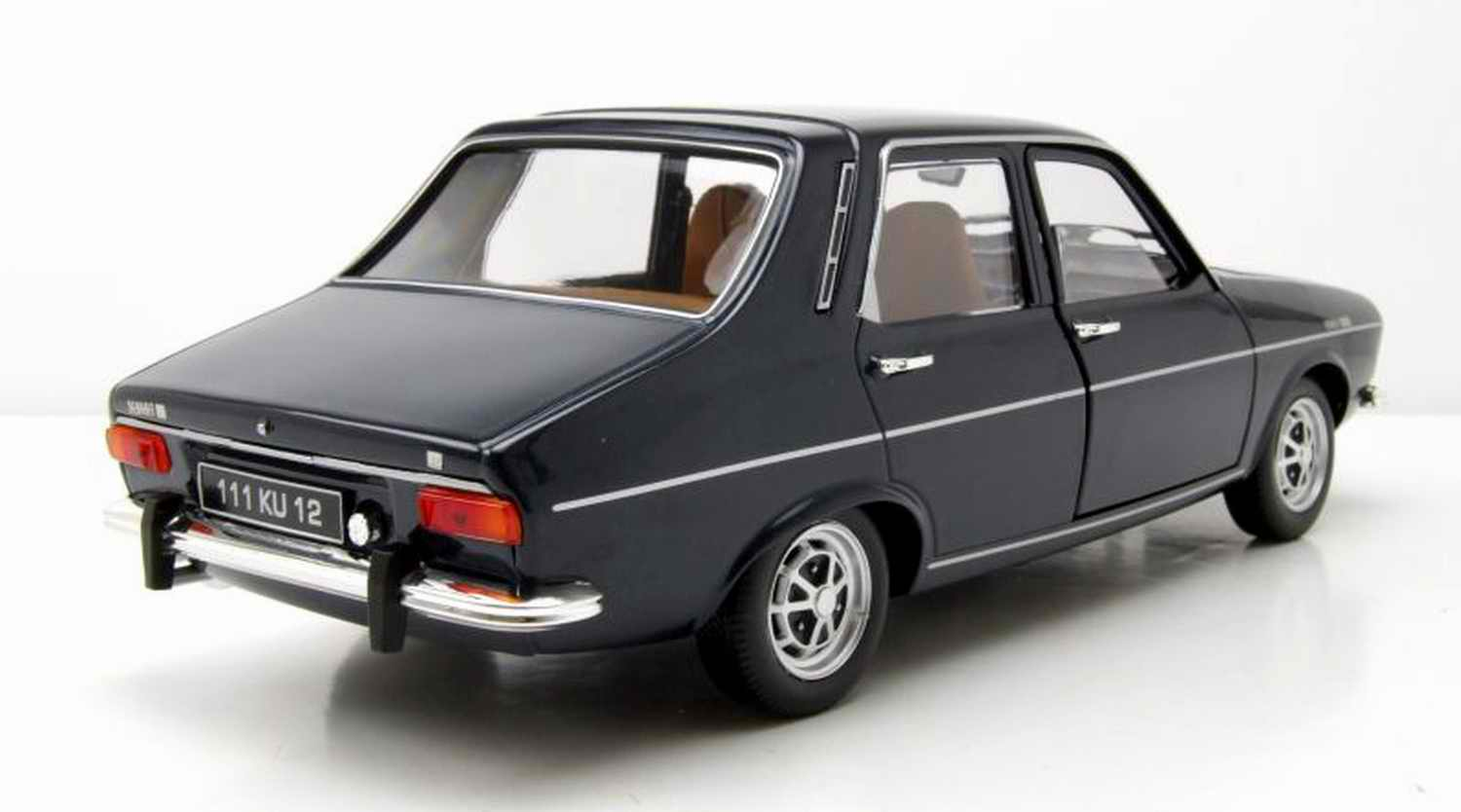 Voiture R12 Miniature RENAULT12TS Norev 1/18