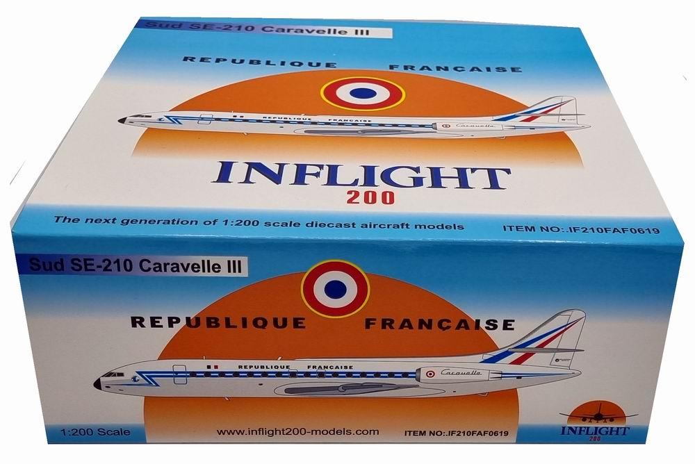 Maquette CARAVELLE 3 Métal REPUBLIQUE FRANCAISE 1/200