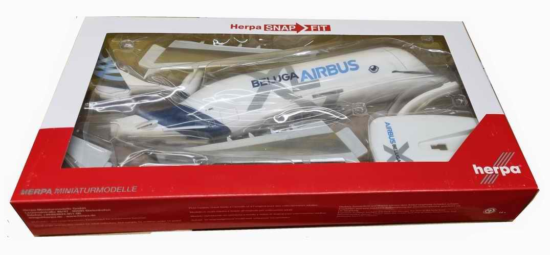Maquette avion AIRBUS A330-700 Beluga XL AIRBUS INDUSTRIES 1/200