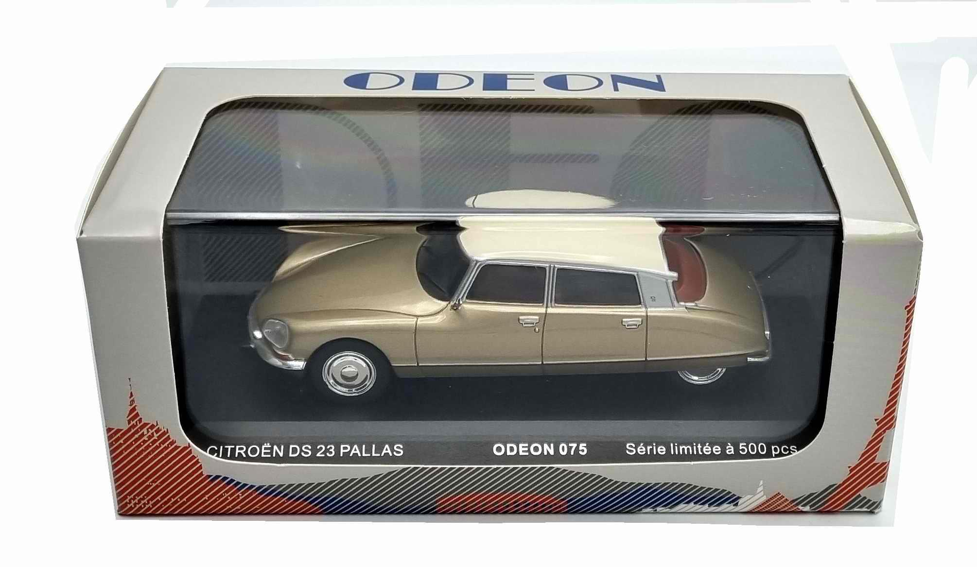 Voiture Miniature Citroën DS 23 Pallas 1973 Beige 1/43