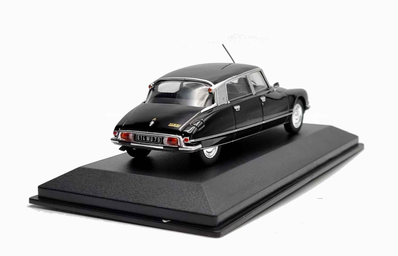 Voiture Miniature Citroën DS23 Pallas 1973 ministre Noire 1/43