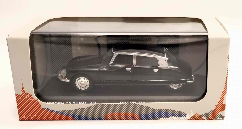 Voiture Miniature Citroën DS 23 Pallas 1973 noir 1/43