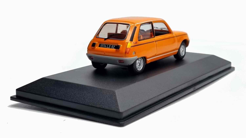 Voiture R5 Miniature Renault 5 LS Orange 1/43