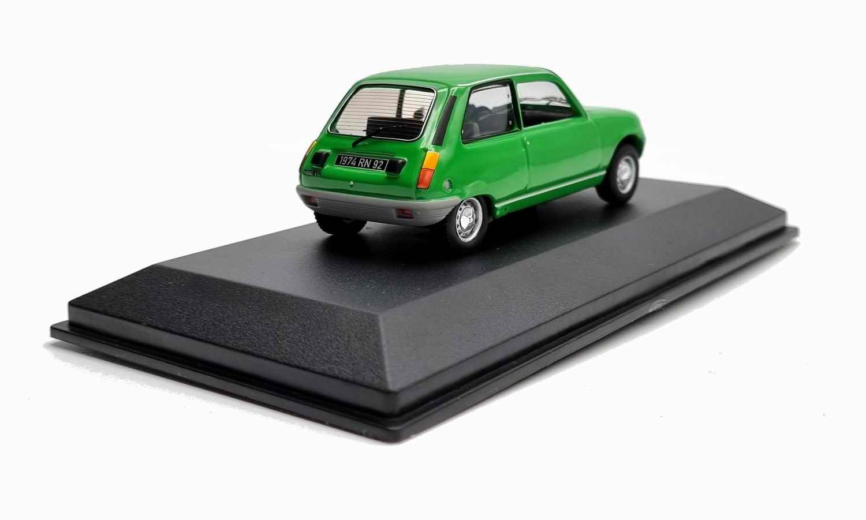 Voiture R5 TL Miniature Renault 5 TL Vert 1/43