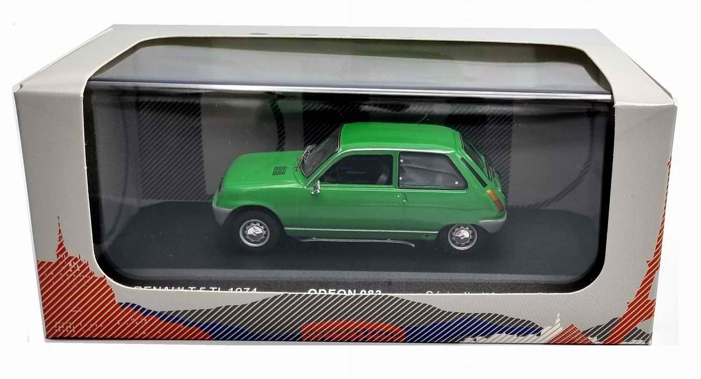 Voiture R5 Miniature Renault 5 TL Vert 1/43